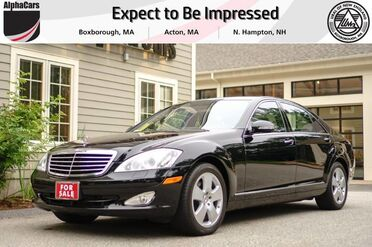 2007_Mercedes-Benz_S550_Luxury Sedan_ Boxborough MA