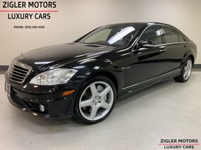 Mercedes-Benz S65 AMG 604 HP Black Night Vision Pano Roof 20 Inch wheels 2007