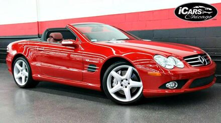 2007_Mercedes-Benz_SL55_AMG 2dr Convertible_ Chicago IL