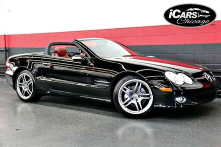 2007_Mercedes-Benz_SL550_2dr Convertible_ Chicago IL