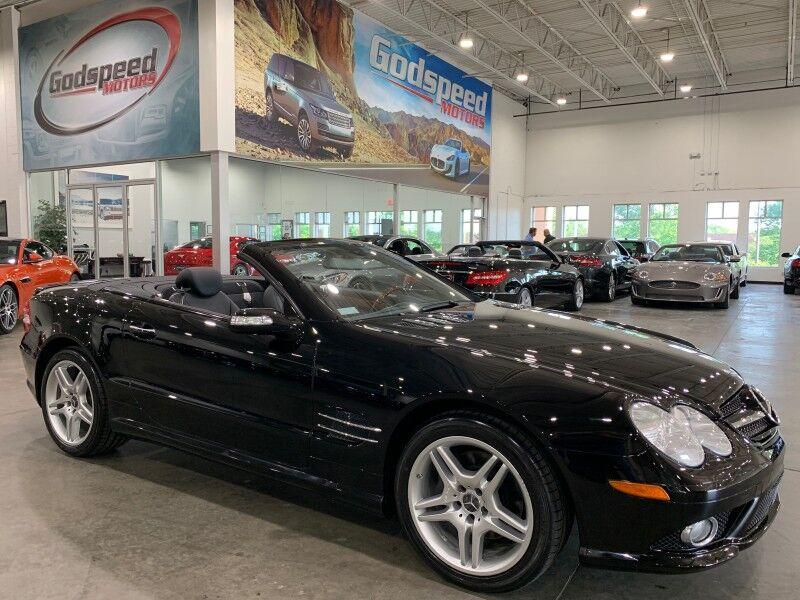2007_Mercedes-Benz_SL550_5.5L V8 105K MSRP_ Charlotte NC