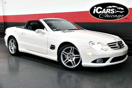 2007_Mercedes-Benz_SL550_AMG Sport 2dr Convertible_ Chicago IL