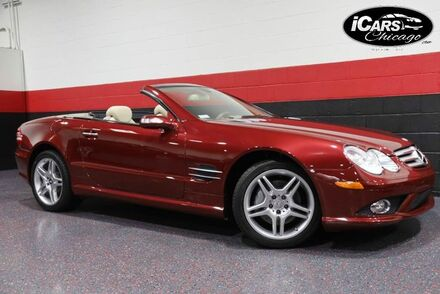 2007_Mercedes-Benz_SL550 AMG Sport_2dr Convertible_ Chicago IL