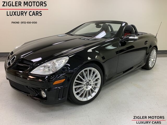 2007 Mercedes-Benz SLK55 5.5L AMG One Owner Perfect service records Very nice Addison TX