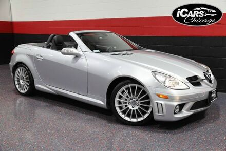 2007_Mercedes-Benz_SLK55 AMG_2dr Convertible_ Chicago IL