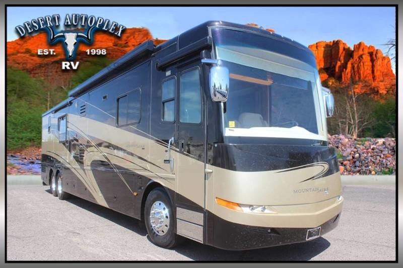 2007 Newmar Mountain Aire 4528 Quad Slide Class A Diesel