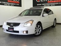 Nissan Maxima SL MOONROOF LEATHER HEATED SEATS PARK ASSIST REAR PARKING AID BOSE SOUND 2007