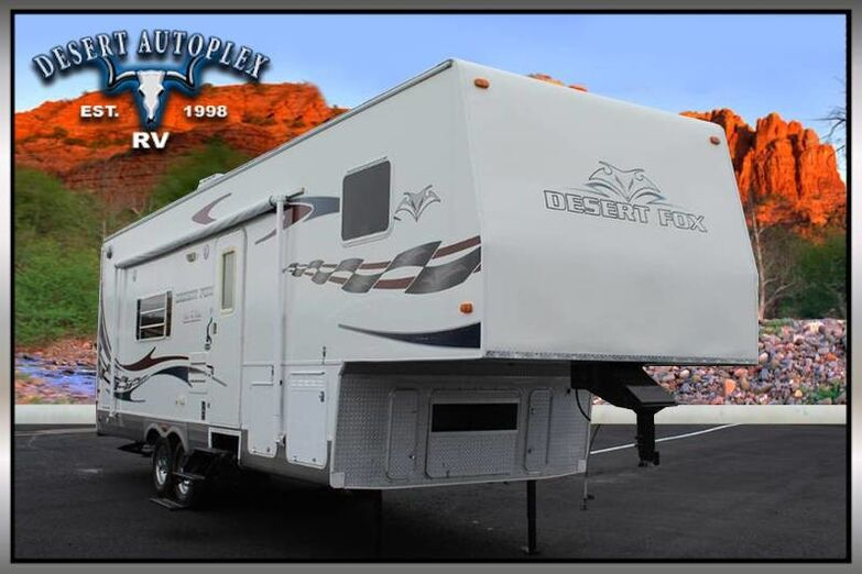 2007 Northwood Desert Fox 30-5J Toy Hauler Mesa AZ