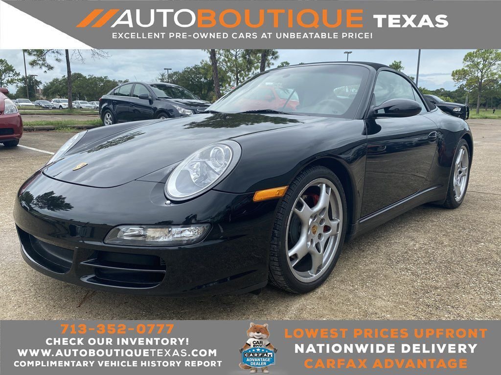 2007 PORSCHE 911 CARRERA S CABRIOLET Houston TX