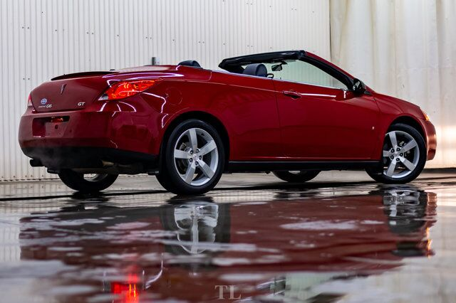 2007 Pontiac G6 GT Convertible Leather Red Deer AB