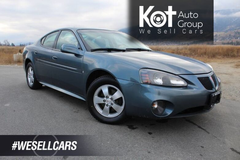 2007 Pontiac Grand Prix No Accidents, Cruise Control Kelowna BC