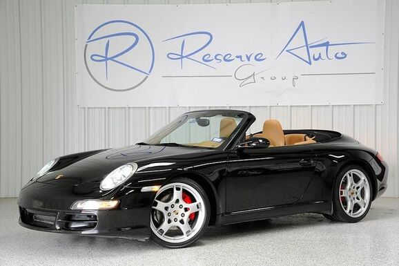 2007_Porsche_911_Carrera S Cabriolet Navigation Full Leather_ The Colony TX