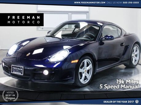 2007_Porsche_Cayman 19k Miles! 5 Speed Manual__ Portland OR