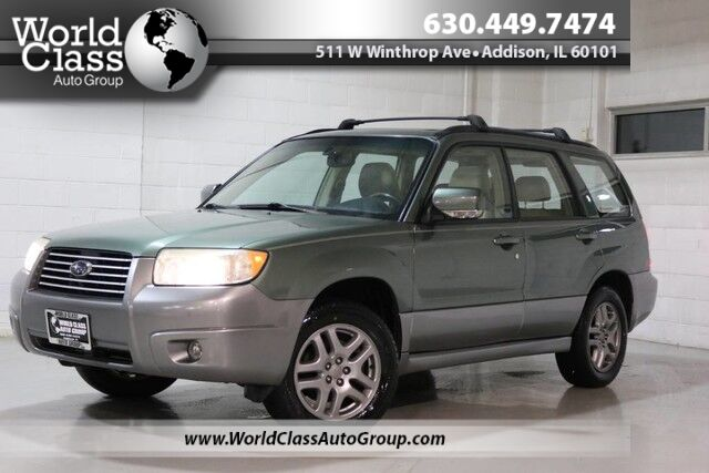 2007 Subaru Forester X L.L. Bean Ed - AWD LEATHER INTERIOR HEATED SEATS PANO SUN ROOF Chicago IL