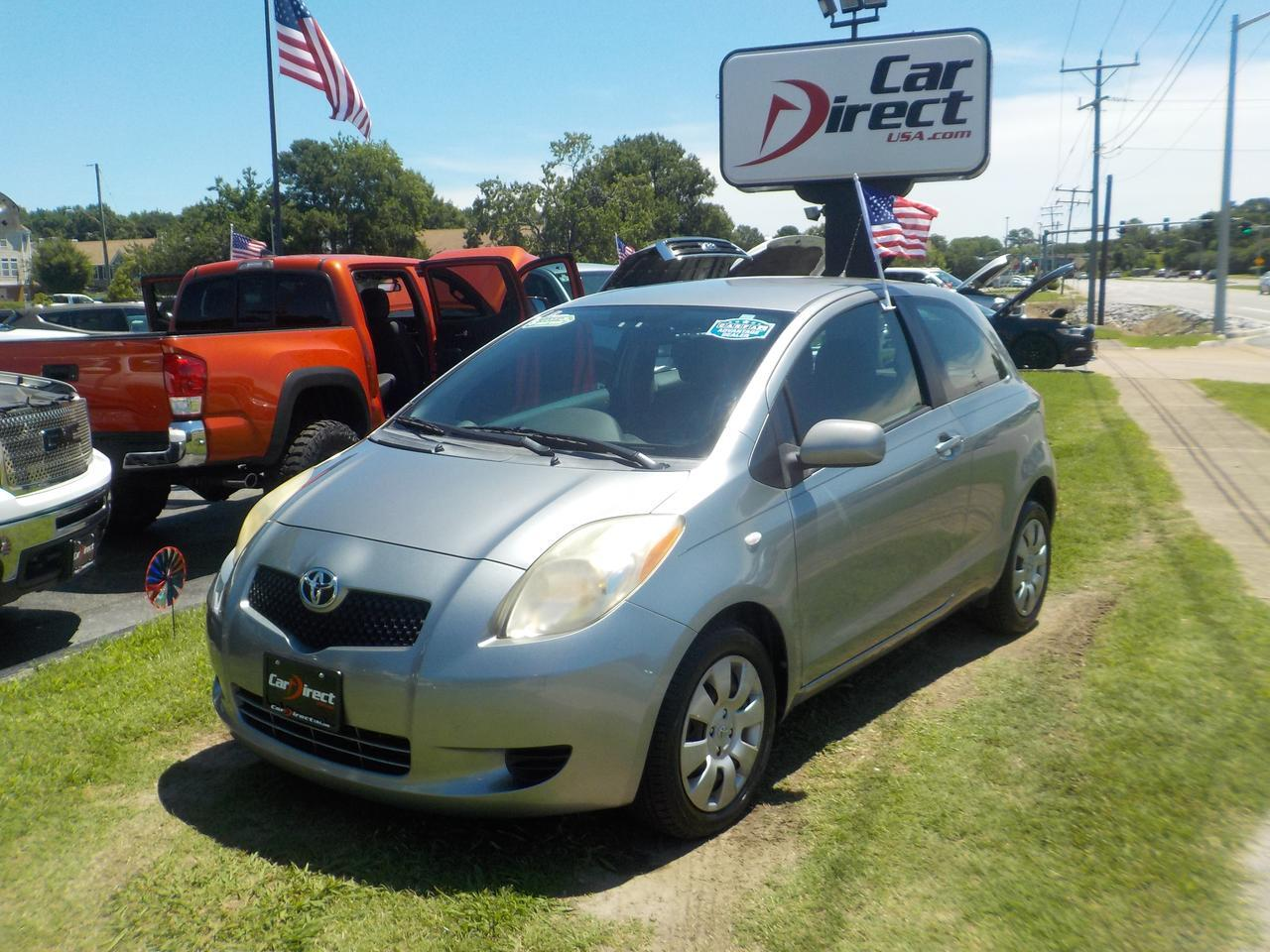 2007 TOYOTA YARIS HATCHBACK, WARRANTY, CD PLAYER, FWD, A/C, LOW MILES, GREAT CONDITION!