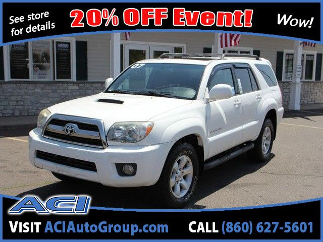 2007 Toyota 4Runner SR5 Sport East Windsor CT