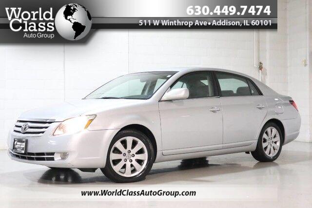 2007 Toyota Avalon Limited - HEATED POWER LEATHER SEATS SUN ROOF CASSETTE PLAYER CD PLAYER DUAL ZONE CLIMATE CONTROL ALLOY WHEELS POWER WINDOWS & LOCKS Chicago IL