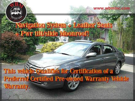 2007_Toyota_Avalon_Limited_ Arlington VA