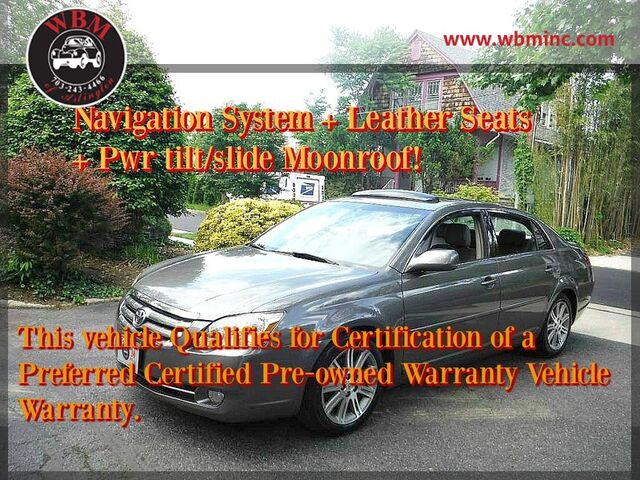 2007 Toyota Avalon Limited Arlington VA