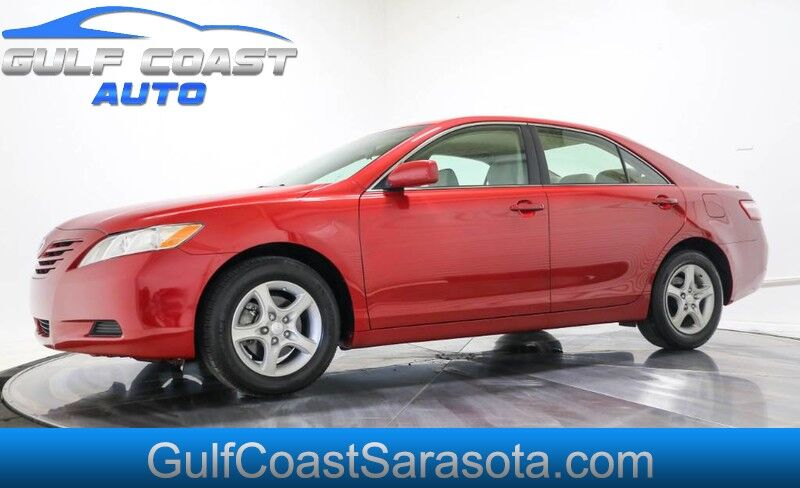 2007 Toyota CAMRY LE LIKE NEW ONLY 32K ORIGINAL MILES 1FL OWNER Sarasota FL