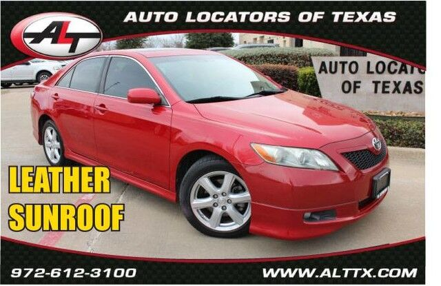 2007 Toyota Camry SE with LEATHER and SUNROOF Plano TX