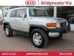 2007 Toyota FJ Cruiser 4WD, Convenience Package, Upgrade Package, Leather Wrapped Steering Wheel, In-Dash CD-Changer, Premium Sound System, Water Repellent Seats, Skid Plates, 17-Inch Black Wheels,