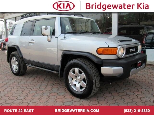 2007 Toyota FJ Cruiser 4WD, Convenience Package, Upgrade Package, Leather Wrapped Steering Wheel, In-Dash CD-Changer, Premium Sound System, Water Repellent Seats, Skid Plates, 17-Inch Black Wheels, Bridgewater NJ
