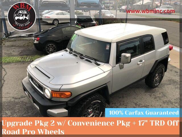 2007 Toyota FJ Cruiser 4WD w/ Upgrade & Convenience Arlington VA