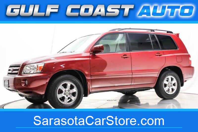 2007_Toyota_HIGHLANDER_LEATHER SUNROOF AWD 3RD ROW EXTRA CLEAN RUNS GREAT COLD AC !!_ Sarasota FL