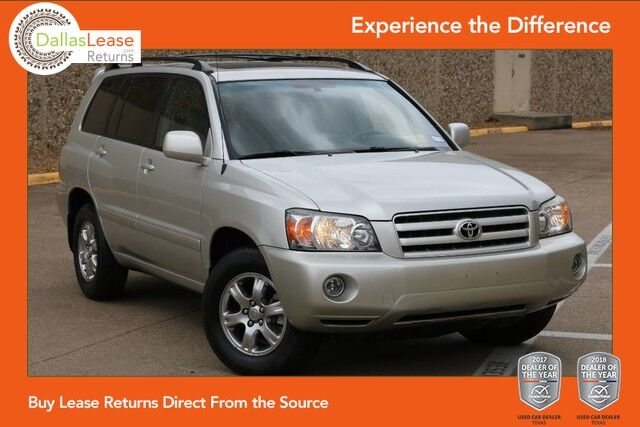 2007 Toyota Highlander  Dallas TX