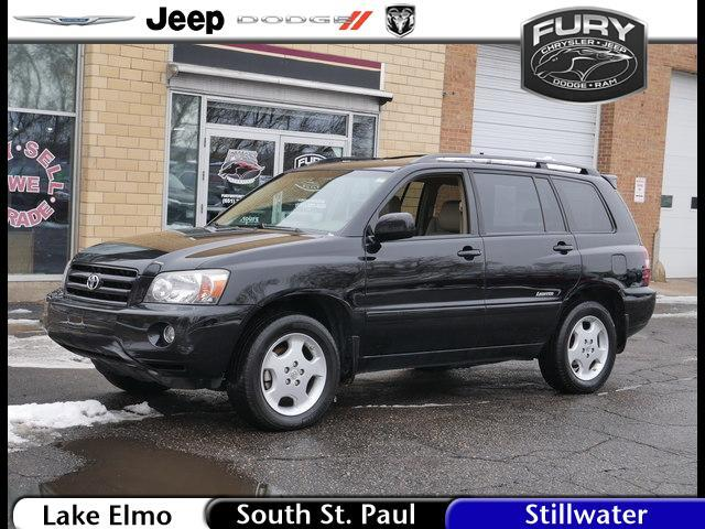 2007 Toyota Highlander 4WD 4dr V6 Limited w/3rd Row (Natl) St. Paul MN