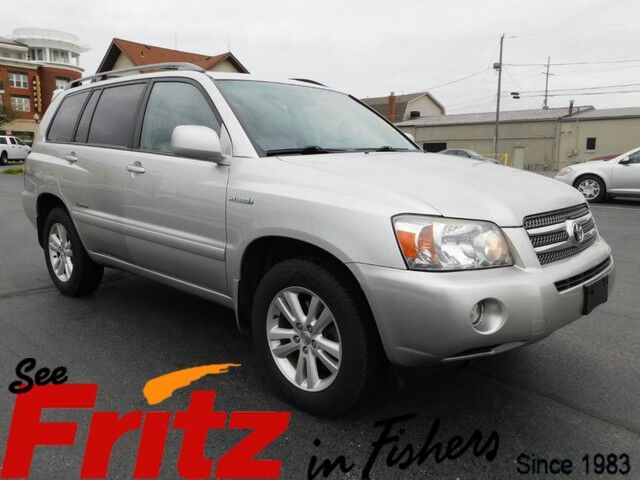 2007 Toyota Highlander Hybrid Limited W 3rd Row Fishers In