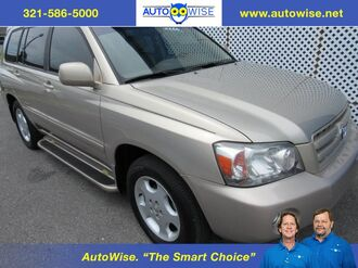 2007_Toyota_Highlander LIMITED 3/ROWS_Limited with 3 Rows_ Melbourne FL