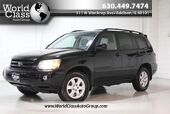 2007 Toyota Highlander Sport - SUN ROOF CD & CASSETTE PLAYER ALLOY WHEELS POWER WINDOWS & LOCKS