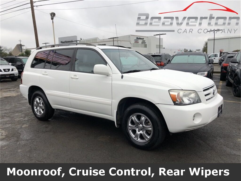 2007 Toyota Highlander Sport Beaverton OR