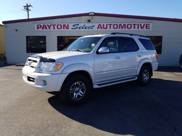2007 Toyota Sequoia Limited Heber Springs AR