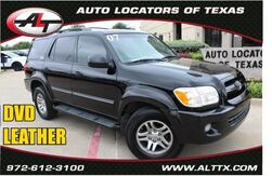 2007_Toyota_Sequoia_SR5 with LEATHER and DVD_ Plano TX