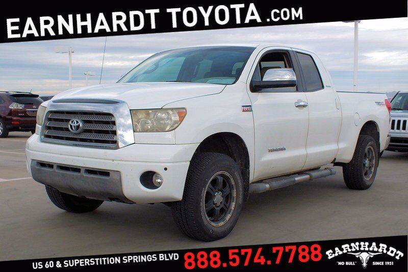 2007 Toyota Tundra LTD 4WD Double Cab *1-OWNER! TRD Off-Road Package* Mesa AZ