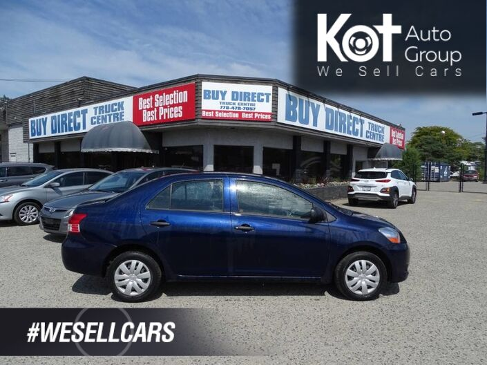 2007 Toyota Yaris Low Km's! Great Fuel Economy Kelowna BC