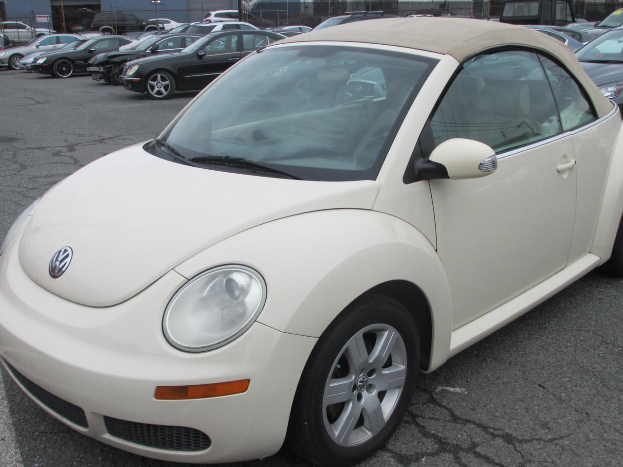 2007 Volkswagen New Beetle 2.5L PZEV Convertible Hyattsville MD