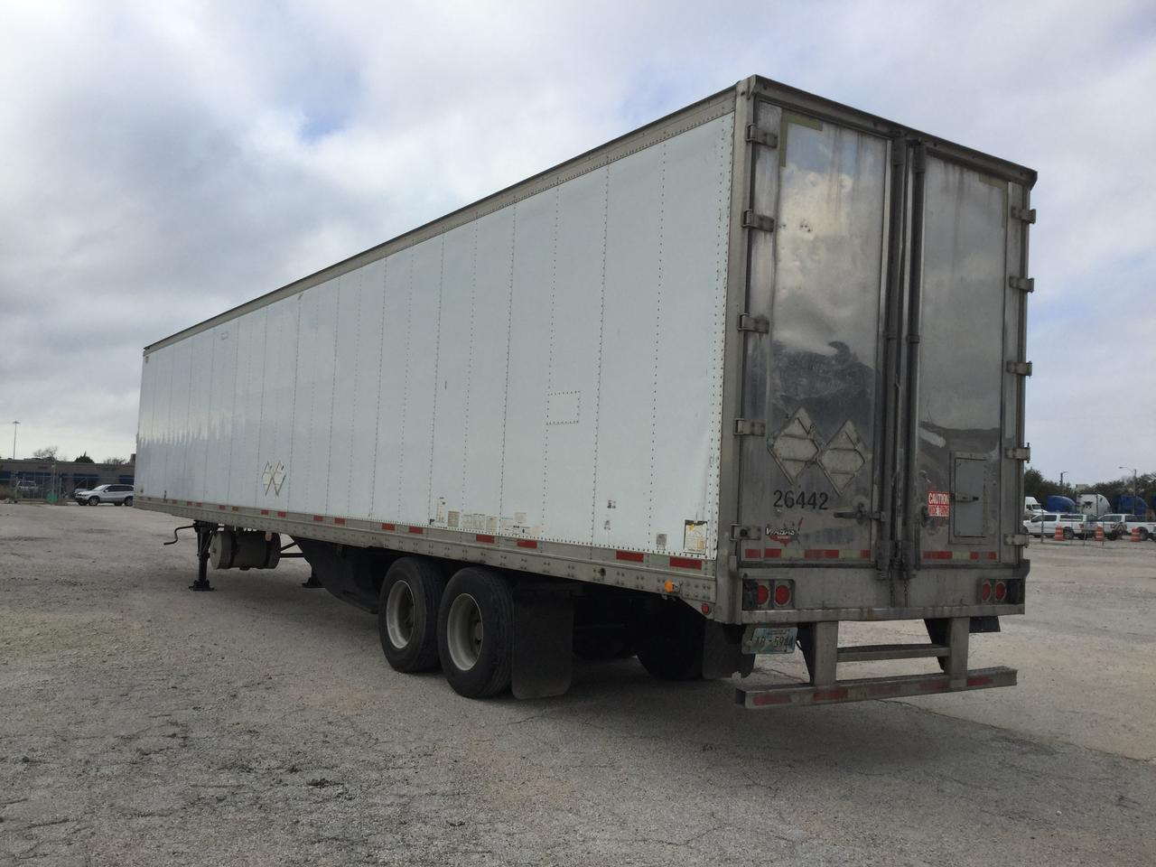 2007 WABASH 53x102 REEFER TRAILER