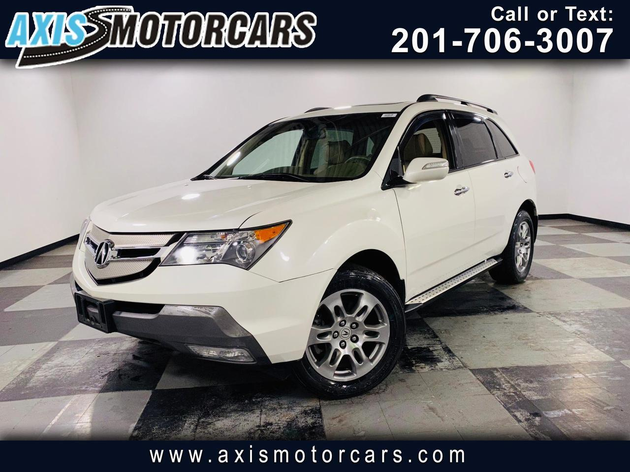 2008 Acura MDX 4WD 4dr Tech/Pwr Tail Gate Jersey City NJ