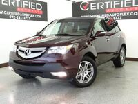 Acura MDX AWD TECH PKG NAVIGATION SUNROOF HEATED LEATHER SEATS MEMORY SEAT POWER LIFT 2008