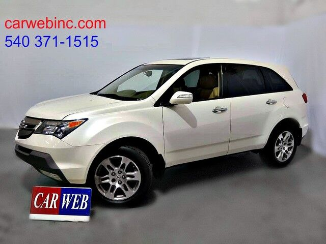 2008 Acura MDX Tech Package Fredricksburg VA