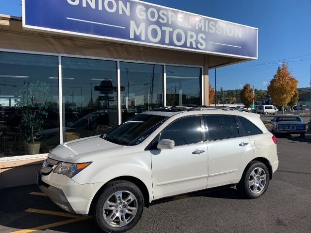 2008 Acura MDX Tech Package with Rear DVD System Spokane Valley WA