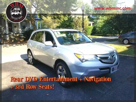 2008_Acura_MDX_w/ Sport & Entertainment Pkgs_ Arlington VA