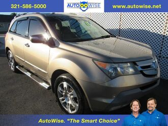 2008_Acura_MDX w/ TECH/DVD_Tech/Entertainment Pkg_ Melbourne FL