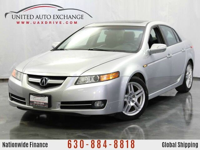 2008 Acura TL 3.2L V6 Engine FWD w/ Navigation, Rear View Camera, Sunroof Addison IL