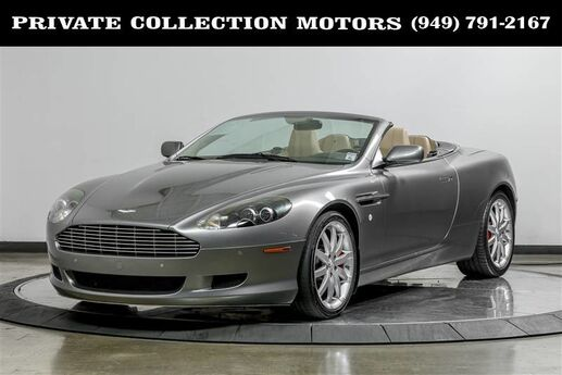2008 Aston Martin DB9 Two Owner California Car Costa Mesa CA