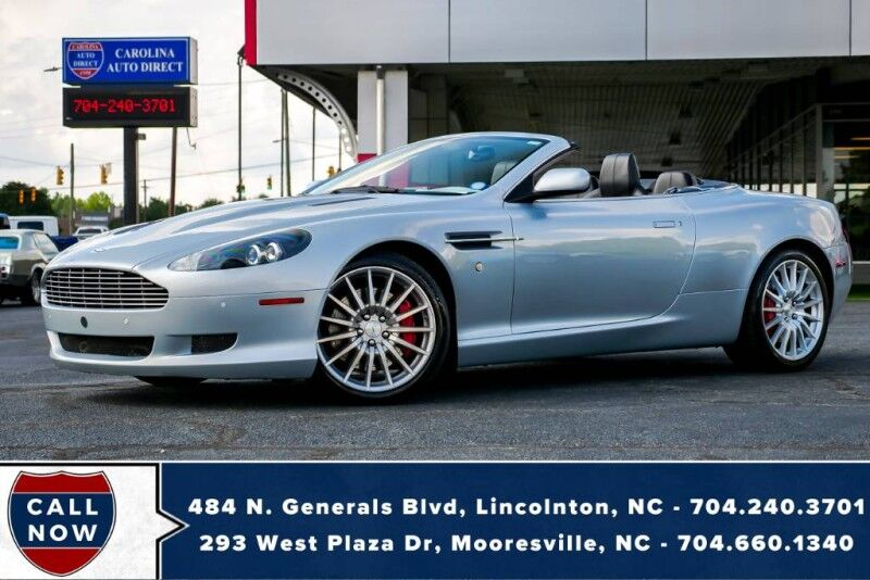 2008 Aston Martin DB9 Volante **1 owner** w/ Heated Front Seats & NAV